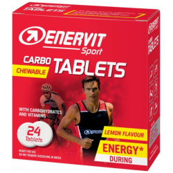 ENERVIT Sport CARBO TABLETS - limona