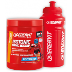 ENERVIT Sport ISOTONIC DRINK - pomaranča 420 g + BIDON