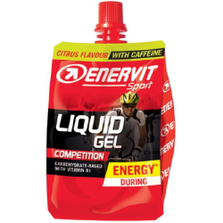 ENERVIT Sport LIQUID GEL COMPETITION s kofeinom - citrus